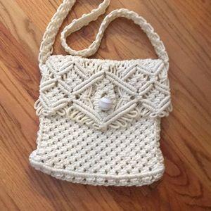 Handbags - Macrame purse